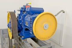 Motor del elevador imagen de archivo libre de regalías