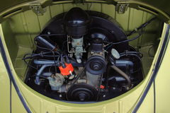 Motor 1957 del escarabajo de VW Fotografía de archivo libre de regalías
