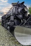 Motor 556 del ferrocarril de Alaska Foto de archivo