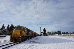 Motor del ferrocarril del paso de Arthurs foto de archivo