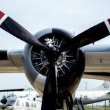 Motor del perseguidor de Grumman S-2 Fotos de archivo