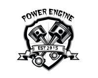 Motor del poder ilustración del vector