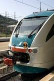 Motor del tren Foto de archivo libre de regalías
