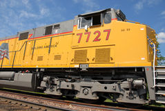 Motor del tren Fotografía de archivo libre de regalías