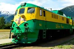 Motor del tren Imagen de archivo libre de regalías