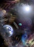 Motor del universo stock de ilustración