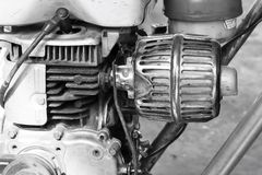 Motor del vintage Fotos de archivo