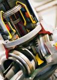 Motor dentro del primer Fotos de archivo