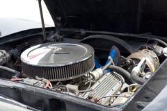 Motor des amerikanischen Autos Stockfoto