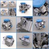 Motor des Automobilbenzins engine Lizenzfreies Stockfoto