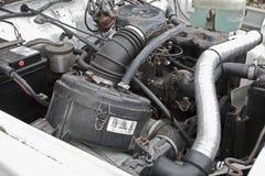 Motor des Jeeps 4x4 Lizenzfreie Stockfotografie