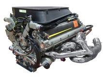 Motor des laufenden Autos lizenzfreie stockfotos