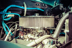 Motor detail V8 Royalty Free Stock Photography