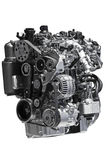 Motor diesel imagen de archivo