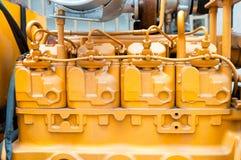 Motor diesel Imagen de archivo libre de regalías
