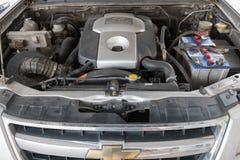Motor diesel Chevrolet Colorado Foto de Stock Royalty Free