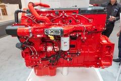 Motor diesel da série da eficiência de Cummins X15 Imagem de Stock Royalty Free