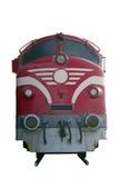Motor diesel del tren Fotos de archivo