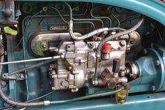 Motor diesel do trator velho Imagem de Stock Royalty Free