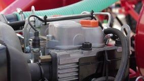 Motor diesel no trator vídeos de arquivo