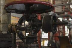 Motor diesel viejo Foto de archivo