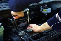 Motor DIY 1 Fotografía de archivo libre de regalías