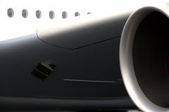 Motor do avião fotos de stock royalty free