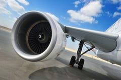 Motor do avião Imagens de Stock Royalty Free