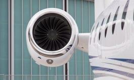 Motor do avião Fotografia de Stock Royalty Free