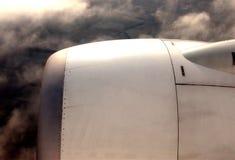 Motor do avião foto de stock royalty free