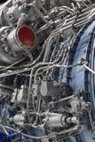 Motor do avião de combate Fotografia de Stock