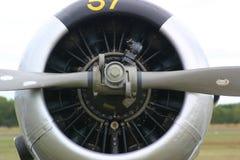 Motor do avião de combate Fotos de Stock