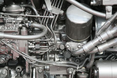 Motor do barco foto de stock royalty free