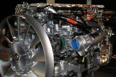 Motor do caminhão Fotografia de Stock