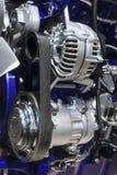 Motor do caminhão comercial Foto de Stock