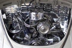 Motor do carro antigo Fotografia de Stock Royalty Free