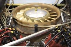 motor do Esporte-carro foto de stock