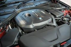 Motor 2018 do Gran Coupe de BMW 420i imagem de stock royalty free