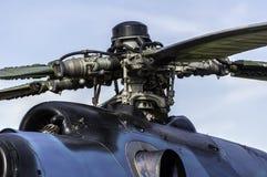 Motor do helicóptero. Imagem de Stock Royalty Free