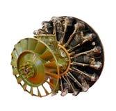 Motor do helicóptero Imagem de Stock