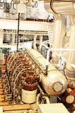 Motor do navio Fotos de Stock