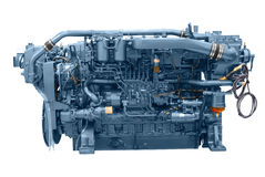 Motor do navio Imagem de Stock Royalty Free