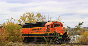 Motor do trem Foto de Stock Royalty Free