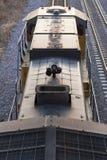Motor do trem de Acima-Vertical fotografia de stock royalty free