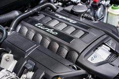 Motor do turbocompressor imagens de stock