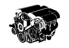 Motor do vetor Fotos de Stock Royalty Free