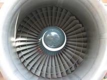 Motor dos aviões imagem de stock royalty free