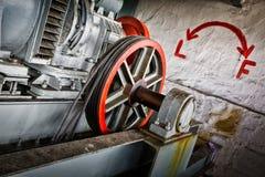 Motor driven elevator Stock Image