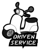 Motor driven service. Illustration design Royalty Free Stock Photos