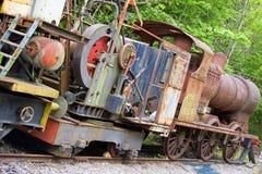 Motor e maquinaria redundantes do trem Foto de Stock Royalty Free